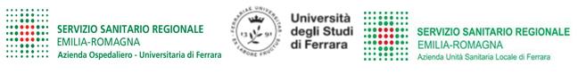 Piattaforma e-learning dell'Azienda USL e dell'Azienda Ospedaliero-Universitaria di Ferrara